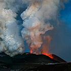 Извержение вулкана Плоский Толбачик. Часть 2
