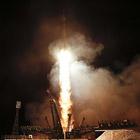"""Поехали! Старт космического корабля Союз ТМА-21 """"Гагарин"""" с космодрома Байконур"""