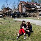 Разрушительные торнадо в США