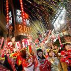 Новый год 2011 по всему миру