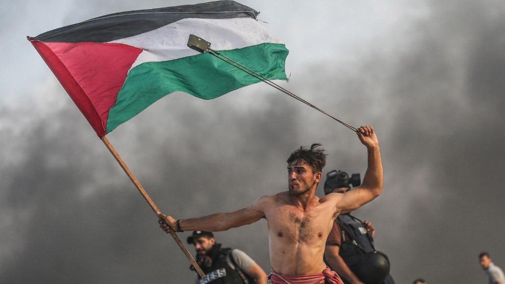 Протесты палестинцев на границе с Израилем