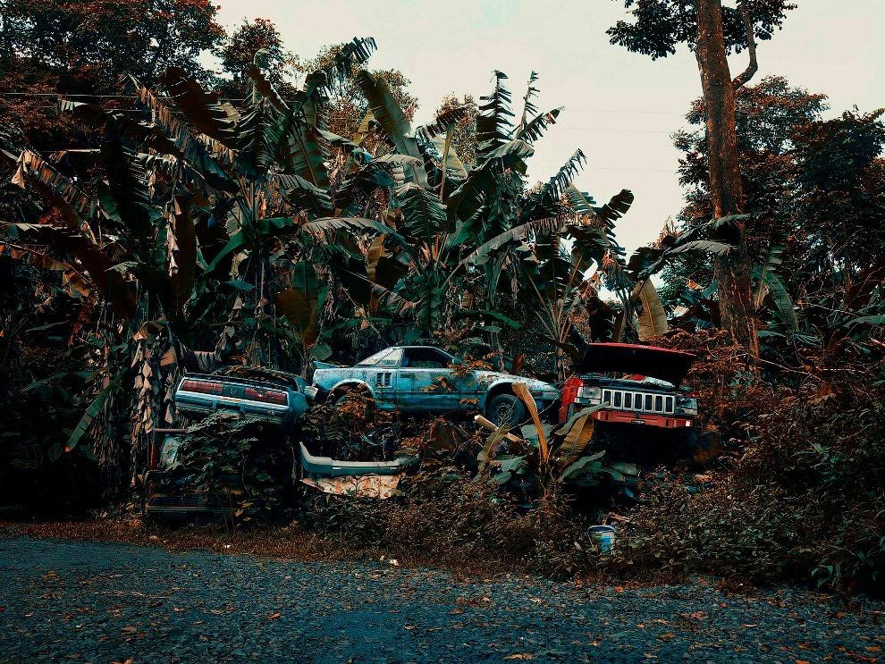 Кладбище автомобилей на Гавайях