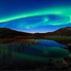 Видео: Северное сияние в Норвегии