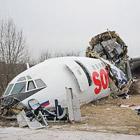 Аварийная посадка Ту-154 Москва - Махачкала