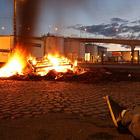 Забастовка во Франции в фотографиях