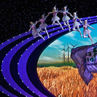 Церемония закрытия World Expo 2010