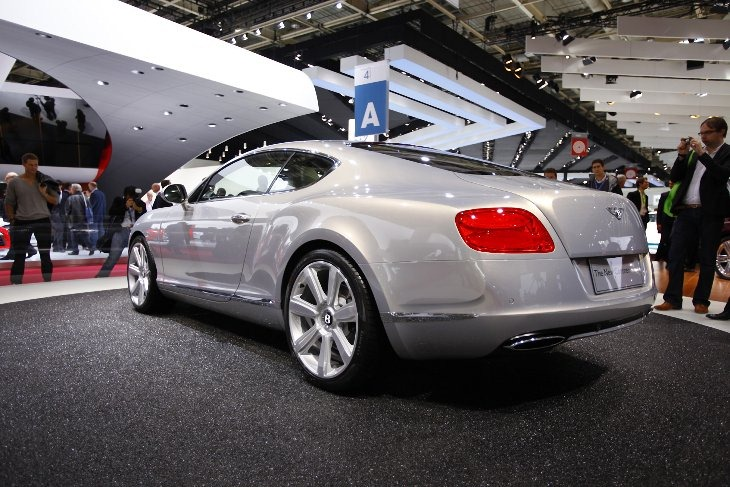 Bentley Continental GT: