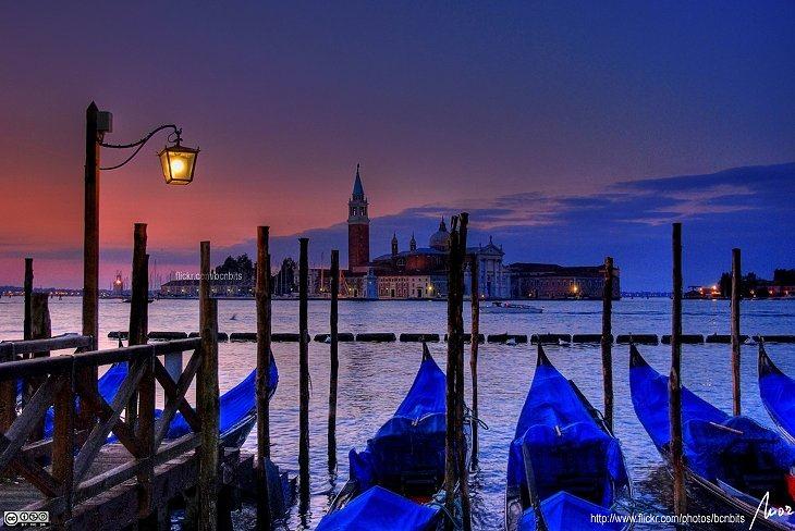 Восход в Венеции