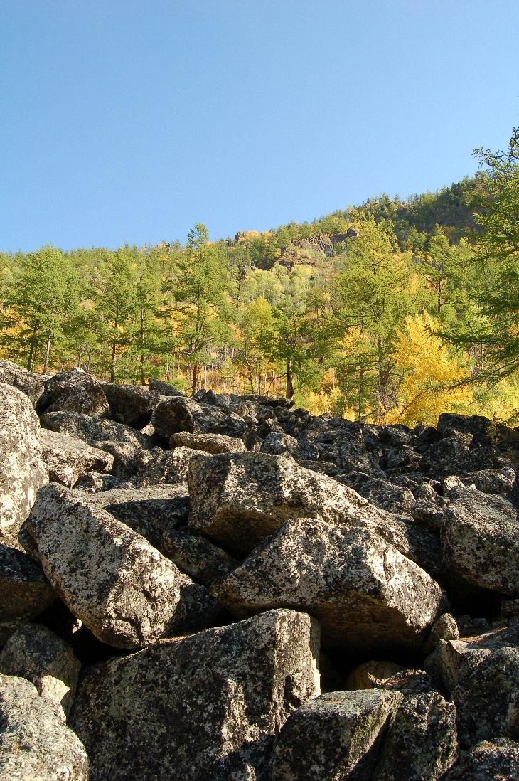 Сарминское ущелье на Байкале