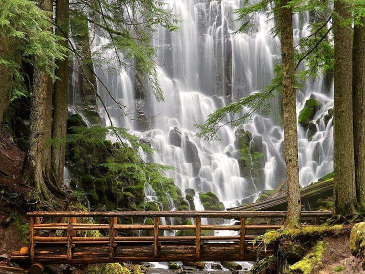 Водопады на реке Колумбия