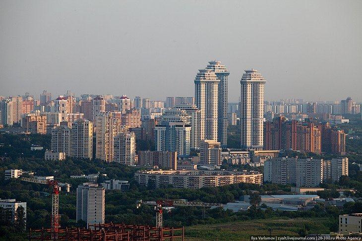 Фотоотчет из высотки Москва-Сити