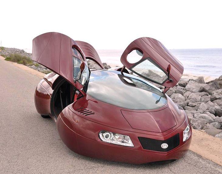 Extra Terrestrial Vehicle Lamborghini door concept car