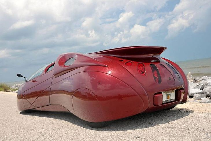 Extra Terrestrial Vehicle Lamborghini door concept car
