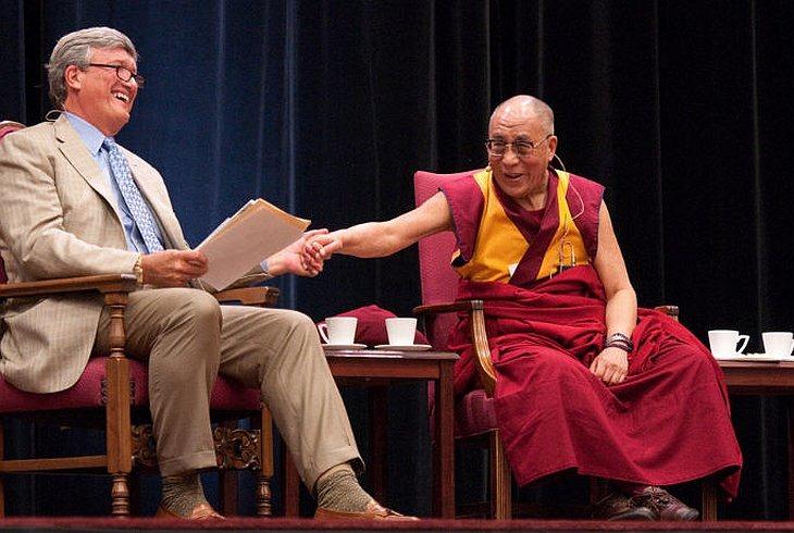 Далай-лама в Стэнфордском университете 15 октября 2010