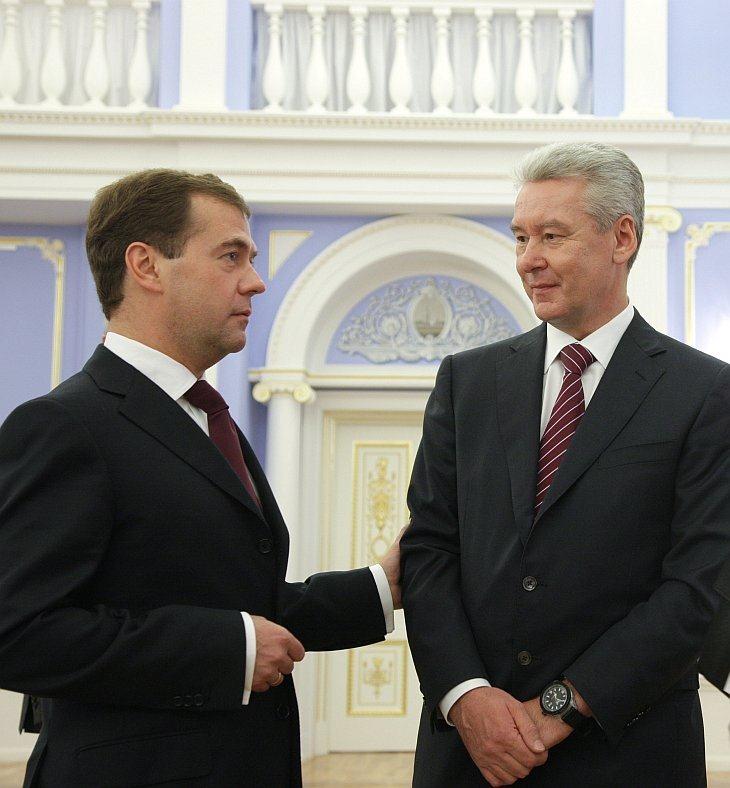 Вечером 15 октября 2010 президент России Дмитрий Медведев предложил кандидатуру вице-премьера, главы аппарата правительства РФ Сергея Собянина на пост мэра Москвы