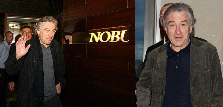 Роберт Де Ниро прибыл в столицу в пятницу, 15 октября 2010