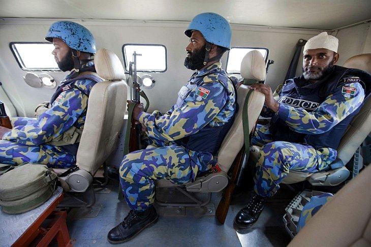 Миротворцы миссии Африканского Союза