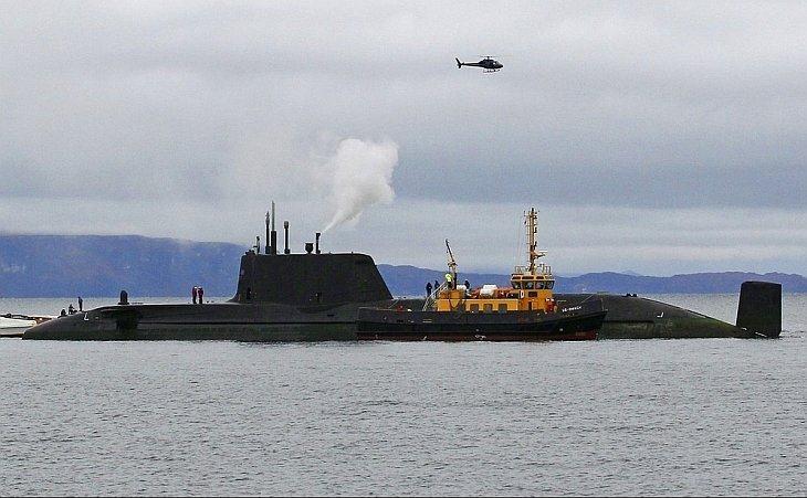 Атомная подводная лодка королевских ВМС Великобритании села на мель у берегов Шотландии