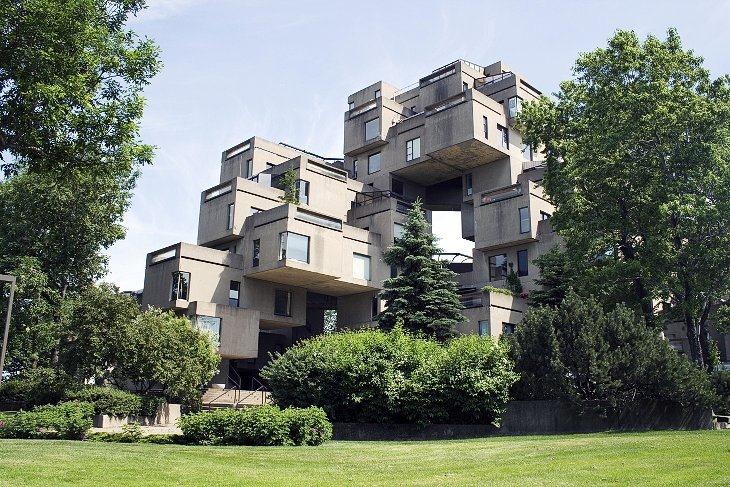 ХАБИТАТ 67 (Монреаль, Канада)