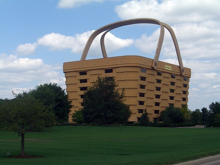 THE BASKET BUILDING (Огайо, США)