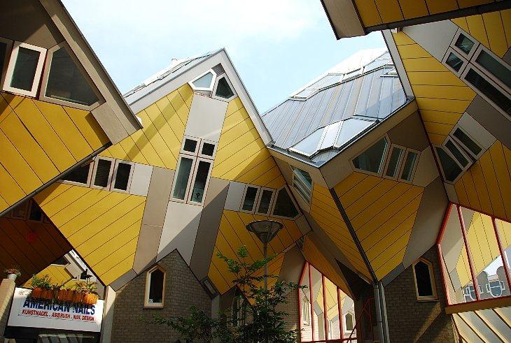 Кубический дом (Роттердам, Нидерланды)