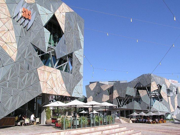 Площадь Федерации (Melboune, Австралия)