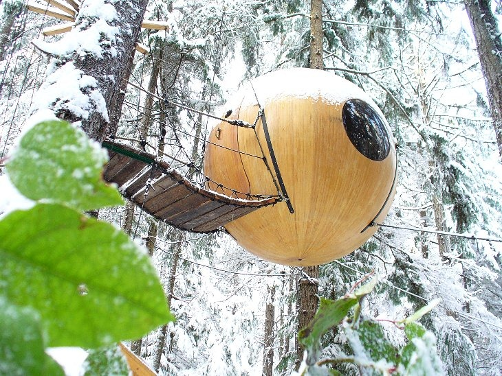 E SPIRIT SPHERES (Qualicum Beach, Британская Колумбия, Канада)