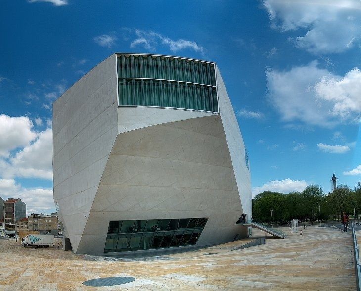 Casa Da MUSICA (Порто, Португалия)