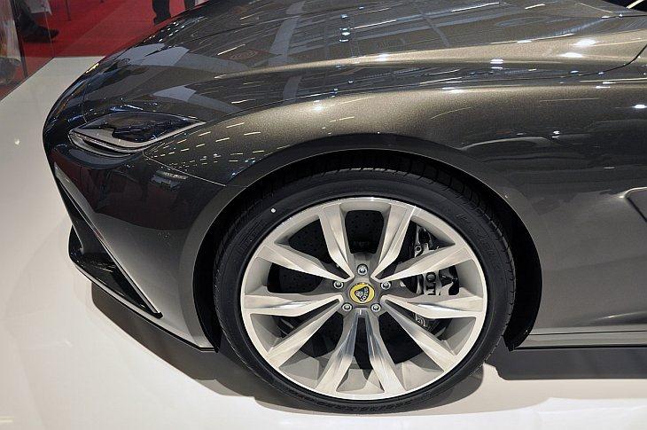 Lotus Eterne hybrid sedan concept