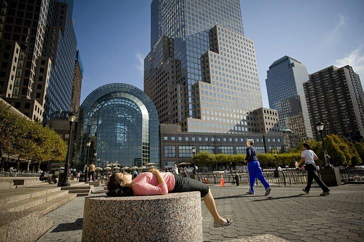 Всемирный финансовый центр в Battery Park City