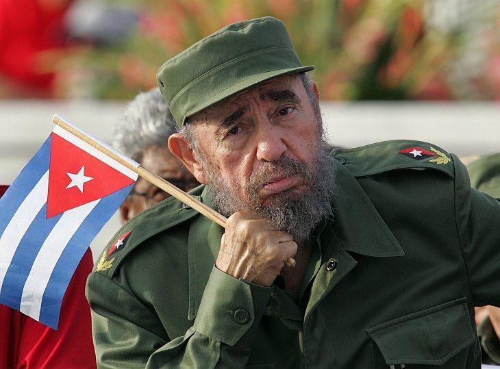 Кубинский президент Фидель Кастро