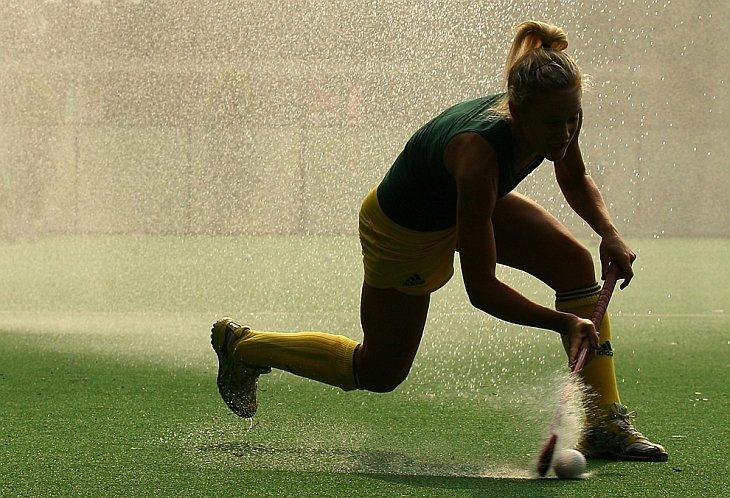 Элисон Брюс из австралийской женской хоккейной команды