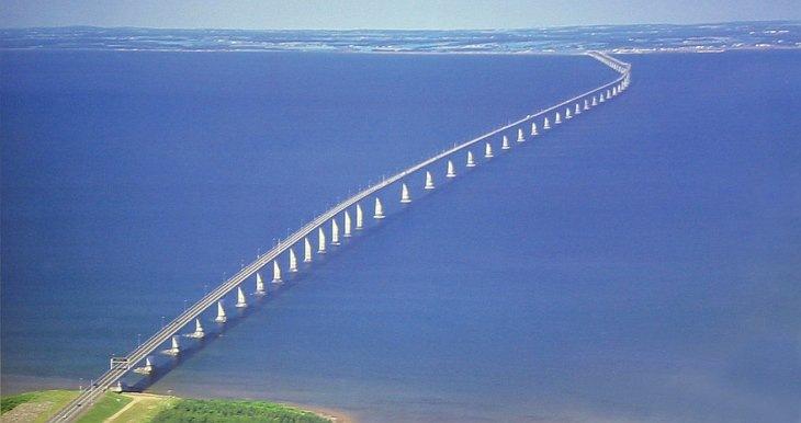 Мост Конфедерации, остров Принца Эдуарда, Канада