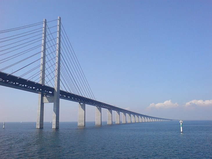 Мост Орезунд, Дания, Швеция