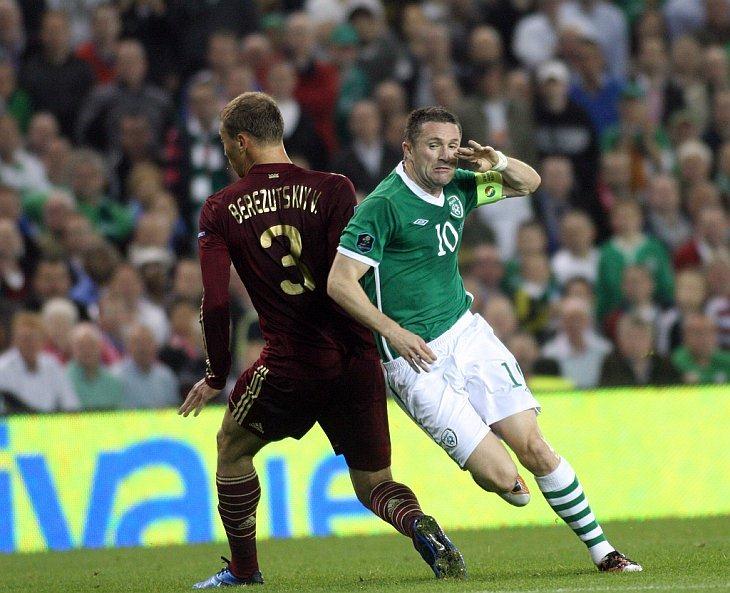 Капитан сборной Ирландии Робби Кин