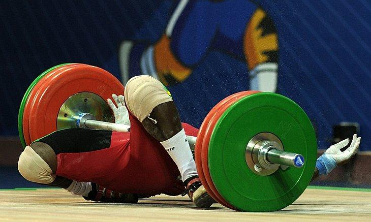 Спортсмен из Ганы Degbe Seth Fetrie