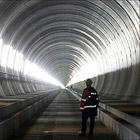 Швейцария. Самый длинный в мире туннель