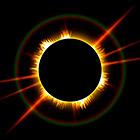 Необычное солнечное затмение: Луна в огненном кольце