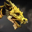Огнедышащий дракон-лошадь посетил Пекин
