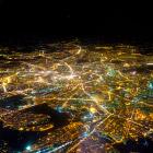Земля из окна самолета в 2014 году