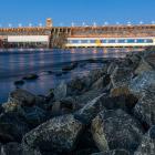 Водосброс Богучанская ГЭС