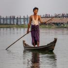Бирма. Знаменитый мост U Bein