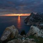 Балаклава: закат у Чембало