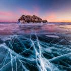Природа Байкала: ледокол Еленка