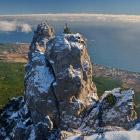 В Крыму над облаками