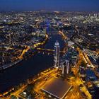 Ночной Лондон с высоты