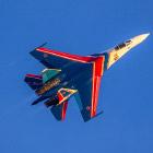 «Русские витязи» на новых Су-35С в Кубинке