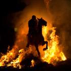 Огонь и лошади: День святого Антонио
