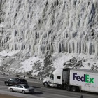 Снегопады и ледяные дожди на юге США