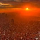 Ночной Стамбул с высоты